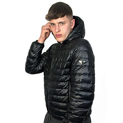 Prada Navy Men's Puffer Jacket