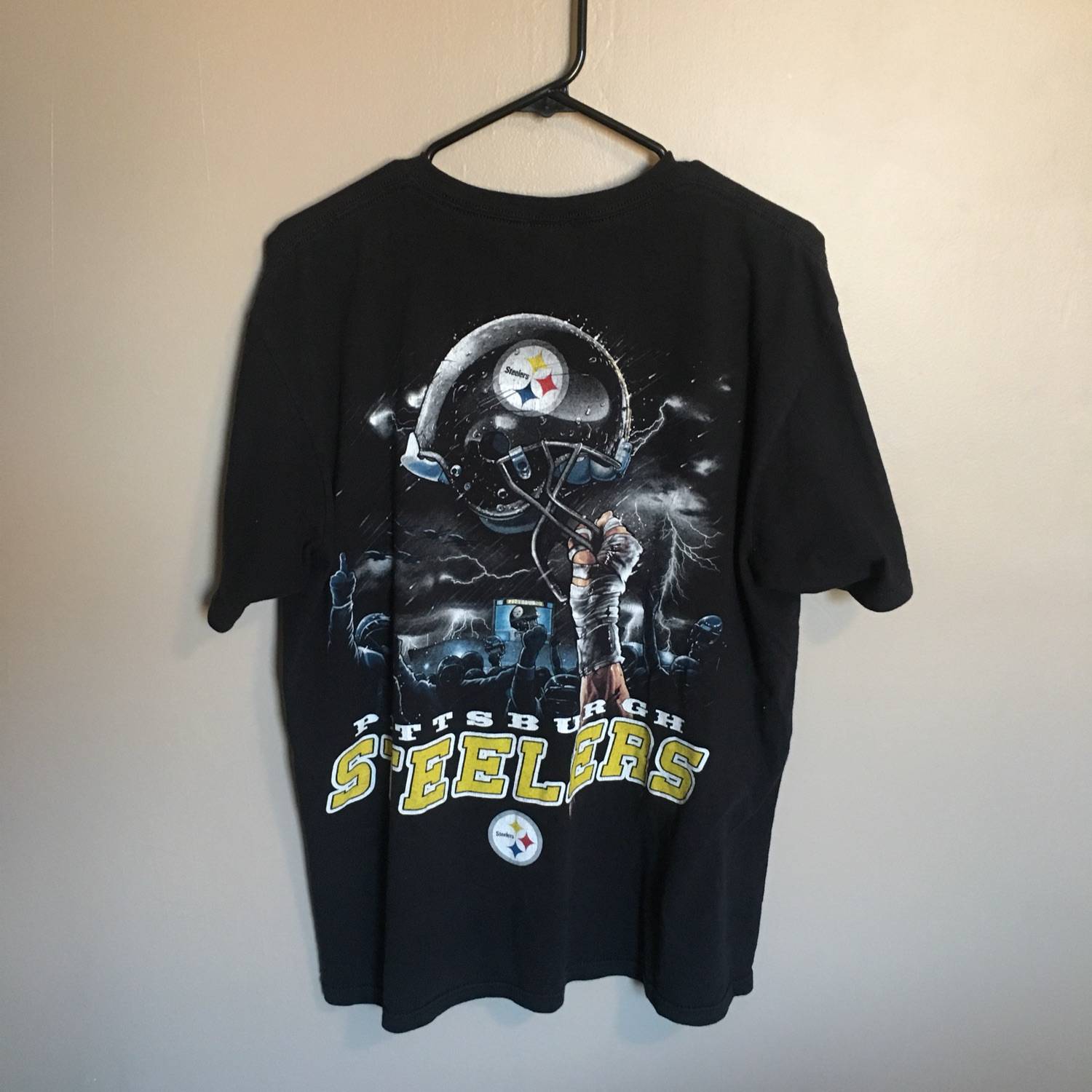 buy online 8b3a3 3e888 Nfl Pittsburgh Steelers Double Sided Tee