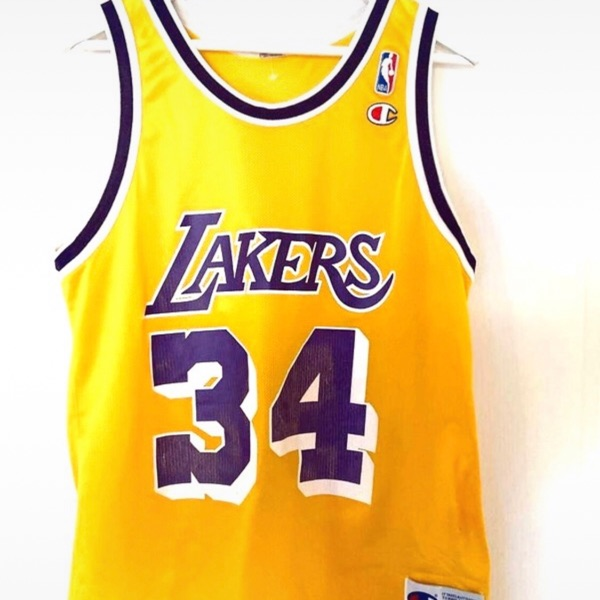 Jersey Nba Los Angeles Lakers O'neal