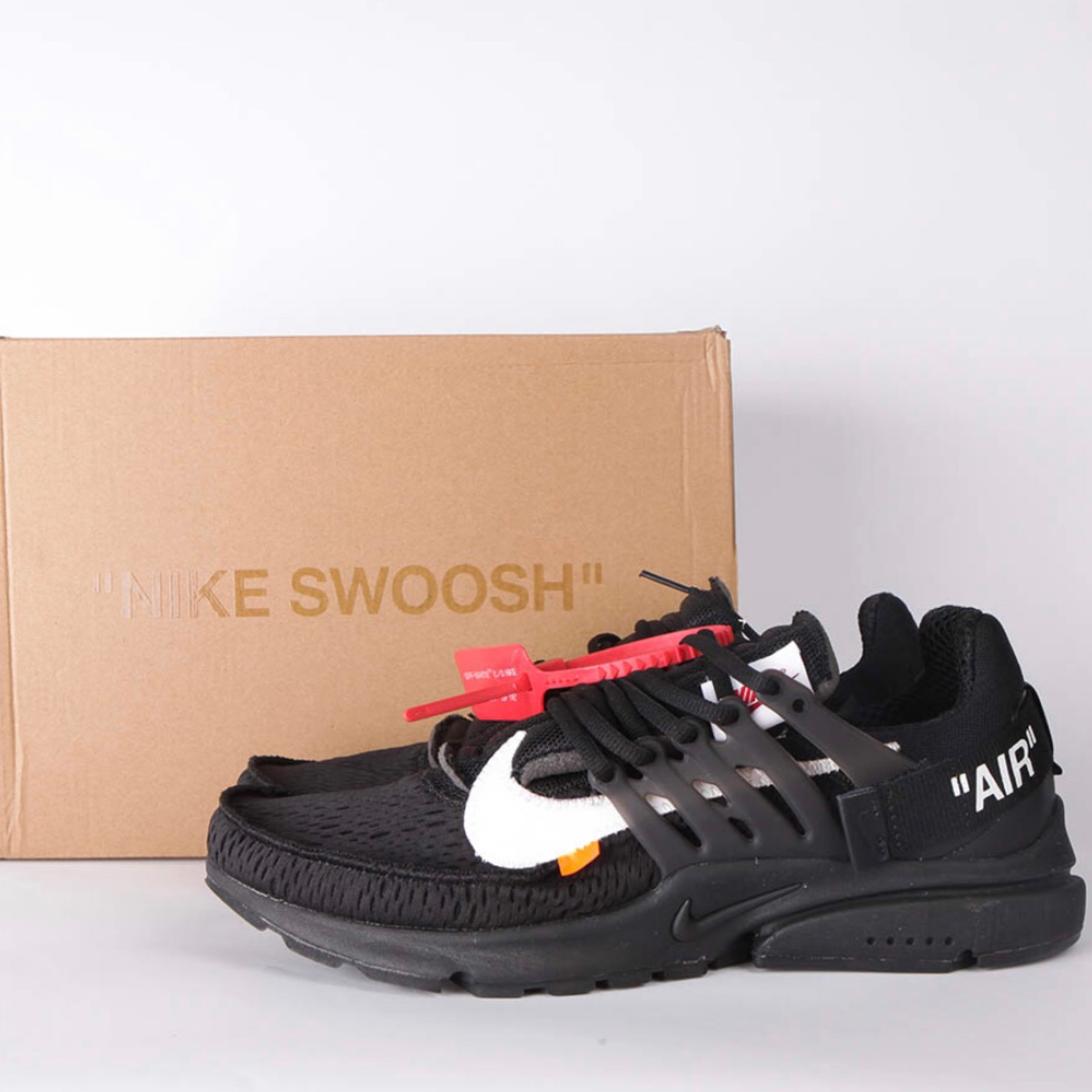 Off-White X Nike Air Presto (Black)