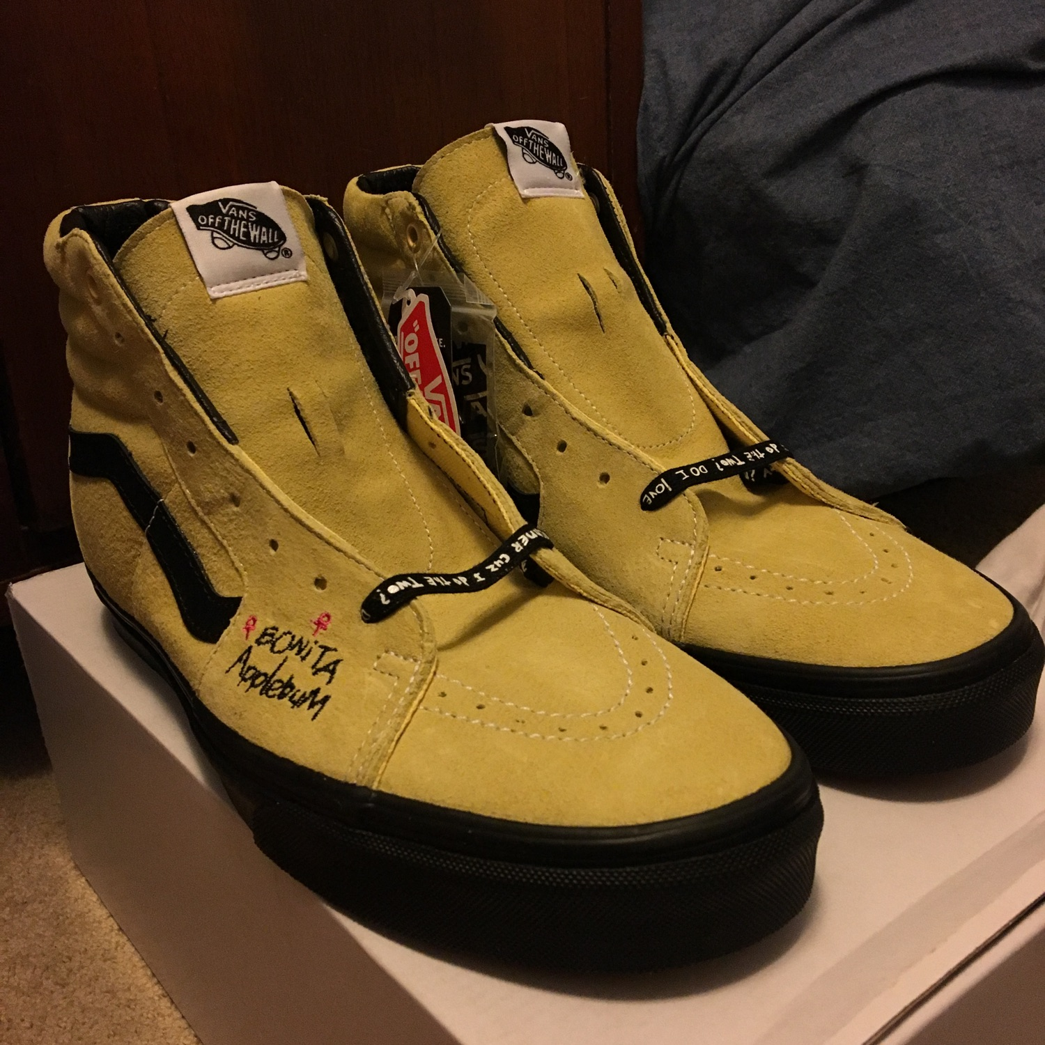 famous brand complete in specifications speical offer Vans Sk8 Hi - A Tribe Called Quest Sz 11