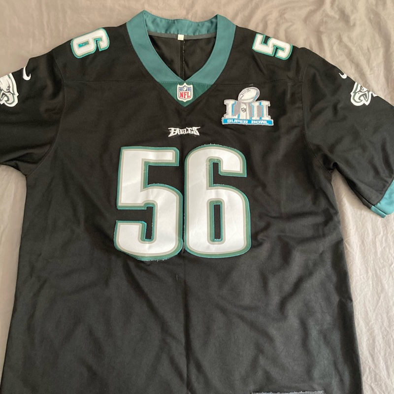 Chris Long Super Bowl 52 Eagles Jersey
