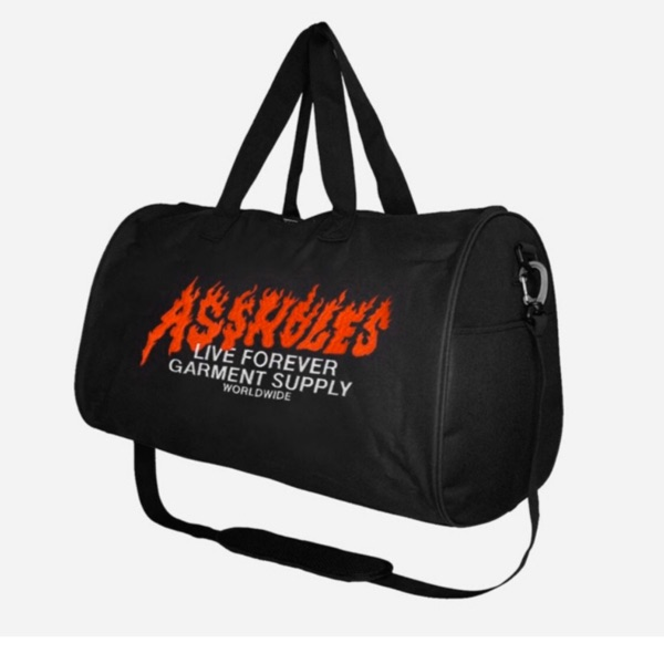 Alf Flames Duffle Bag Black From Nov Drop (Os) (1)