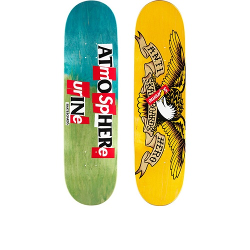 Supreme ANTIHERO Skateboard Blue Green