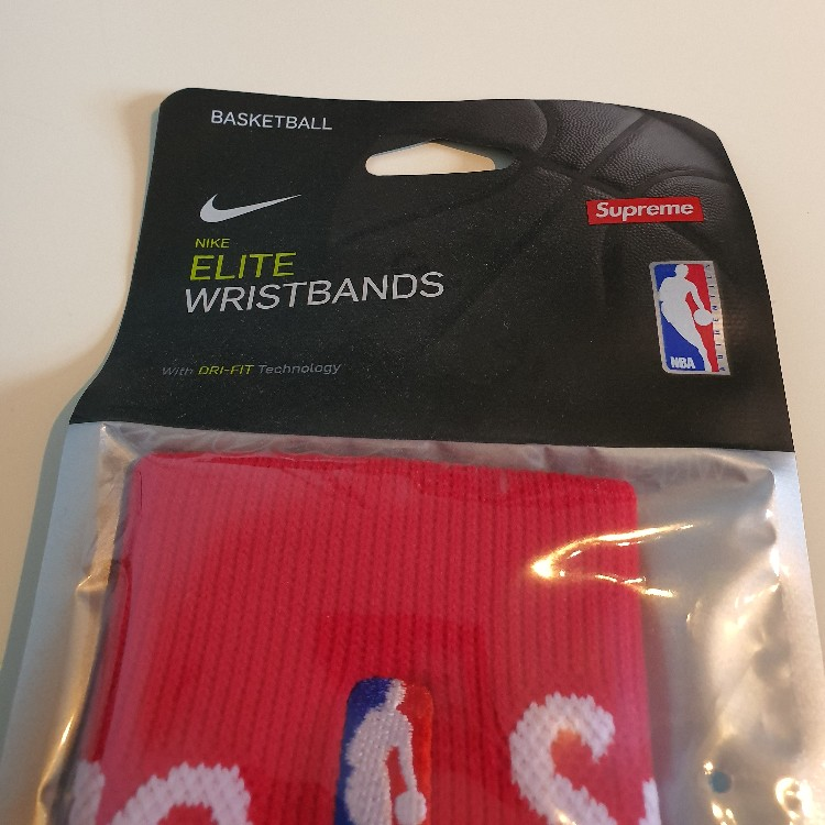 Ss19 Supreme X Nike X Nba Elite Wristbands (Pack Of 2)