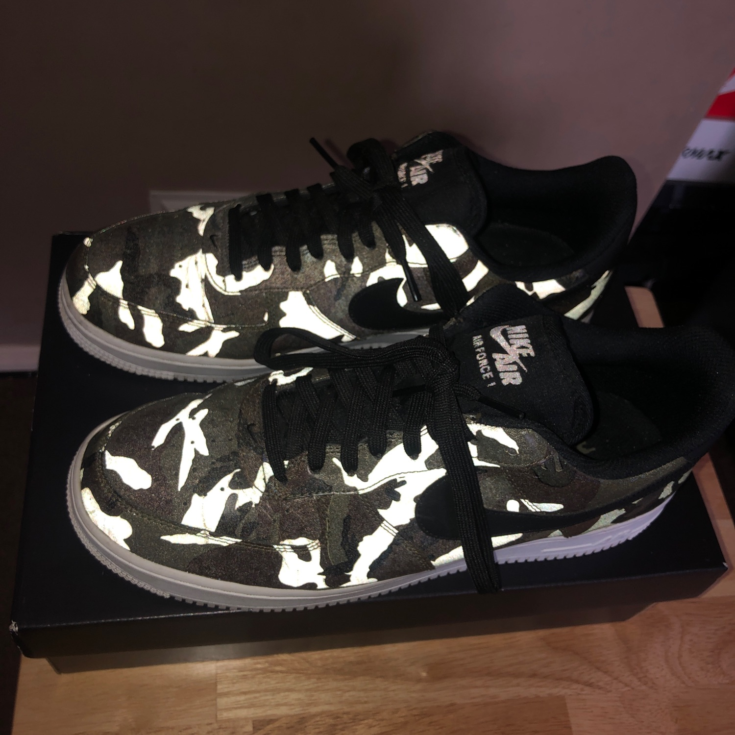 Air Force 1 Low Reflective Woodland Camo