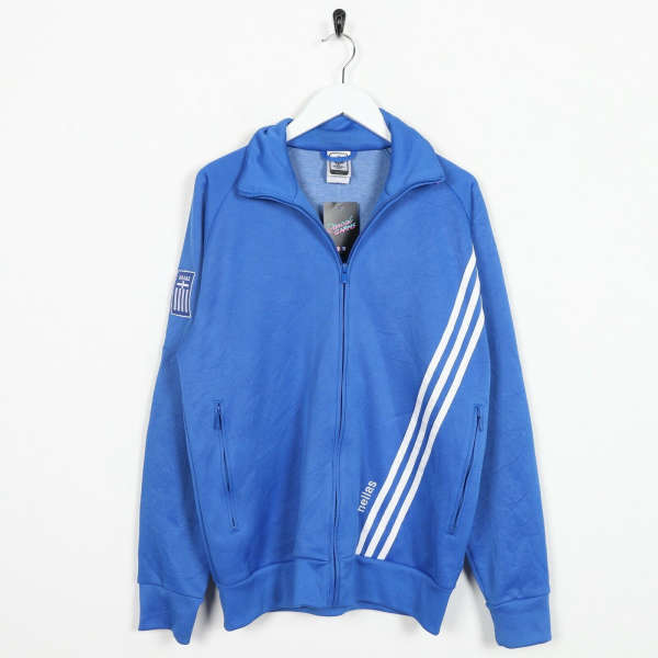 Vintage ADIDAS World Cup 2006 Small Logo Tracksuit Top Jacket Blue small S