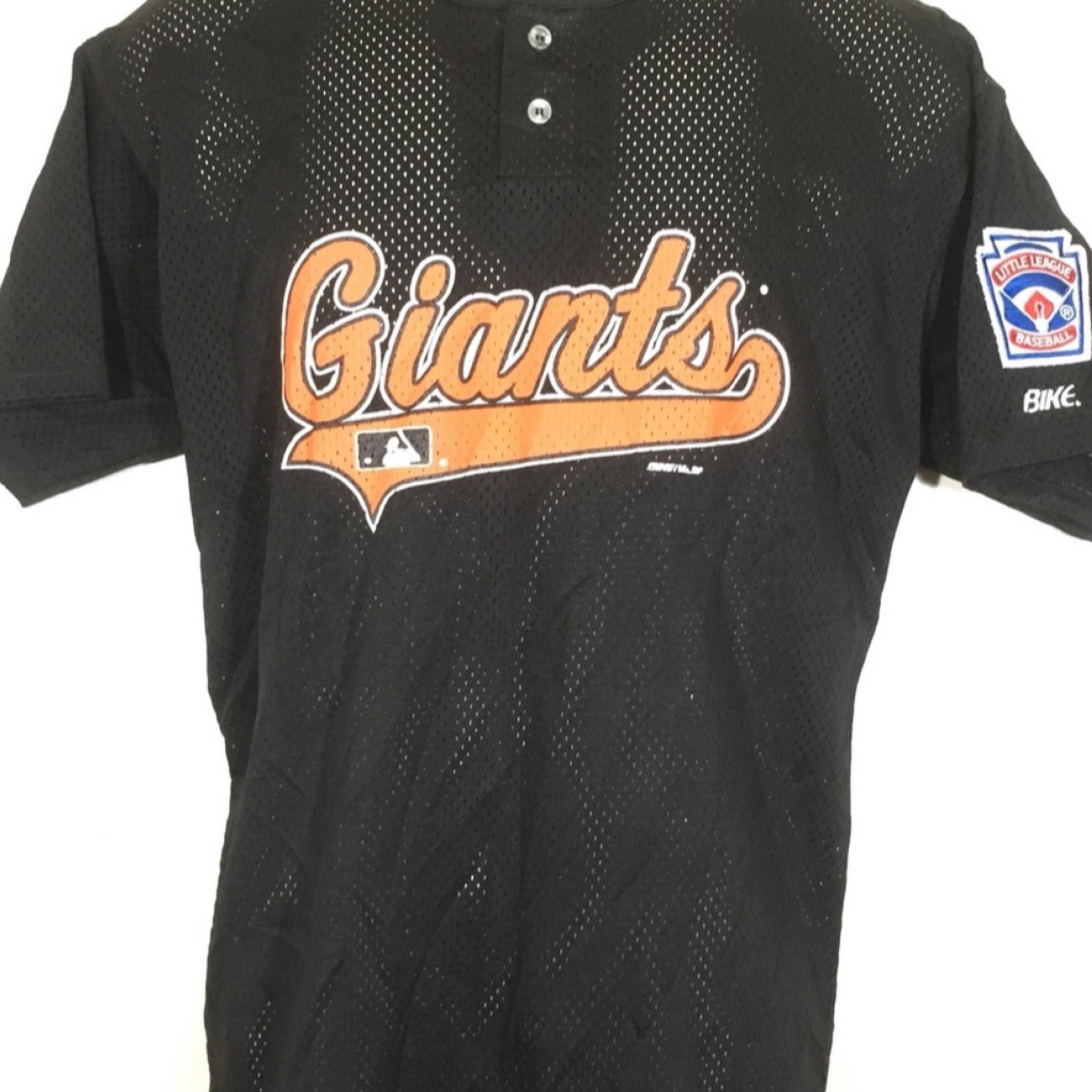 the best attitude e1bc6 993df New York Giants Vintage Baseball Shirt