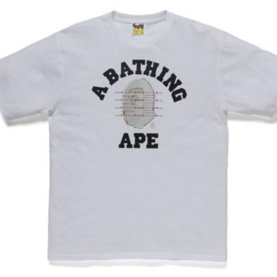 Bape X Pusha T College Tee