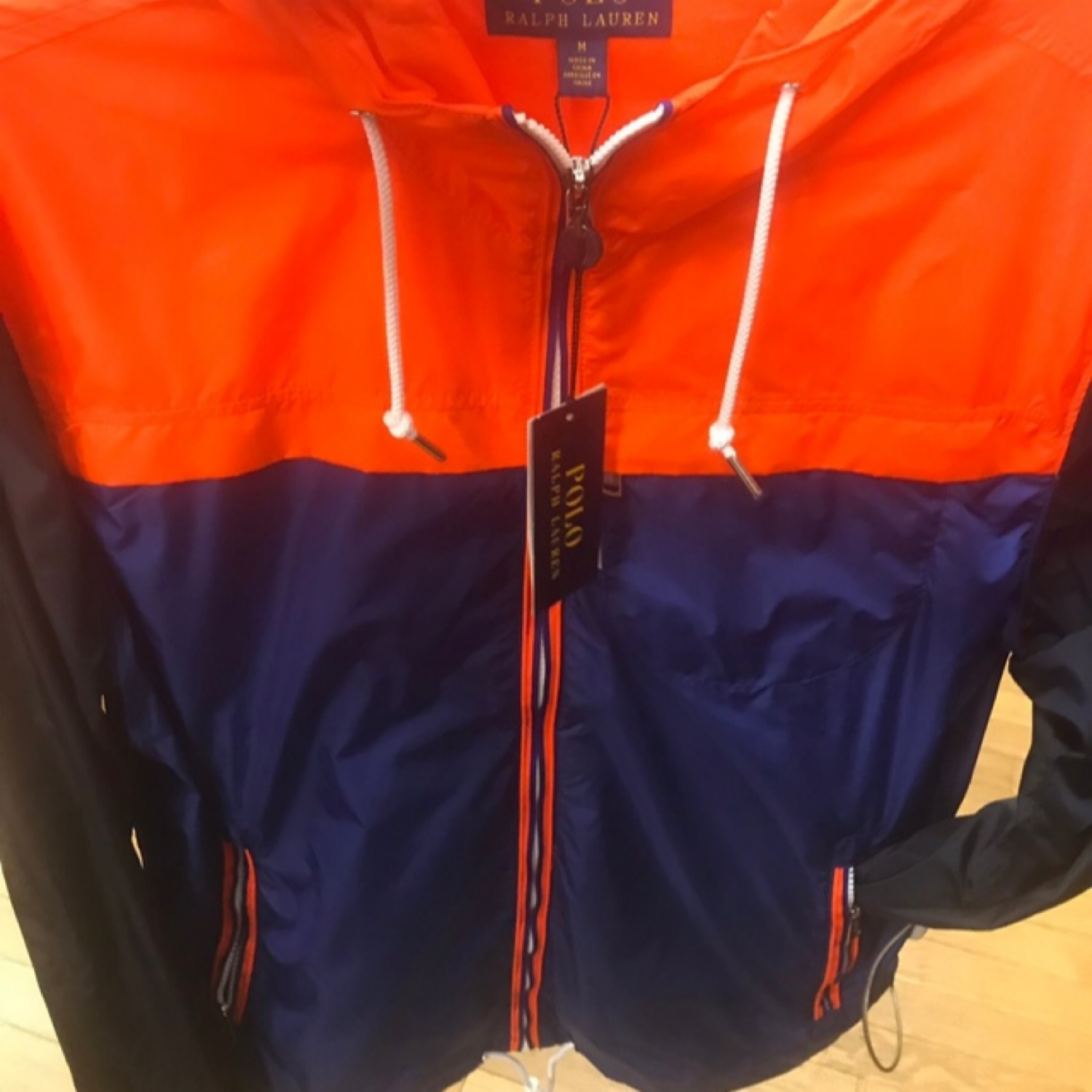 release info on attractive style hot-selling authentic Polo Ralph Lauren Jockey Syracuse Raincoat
