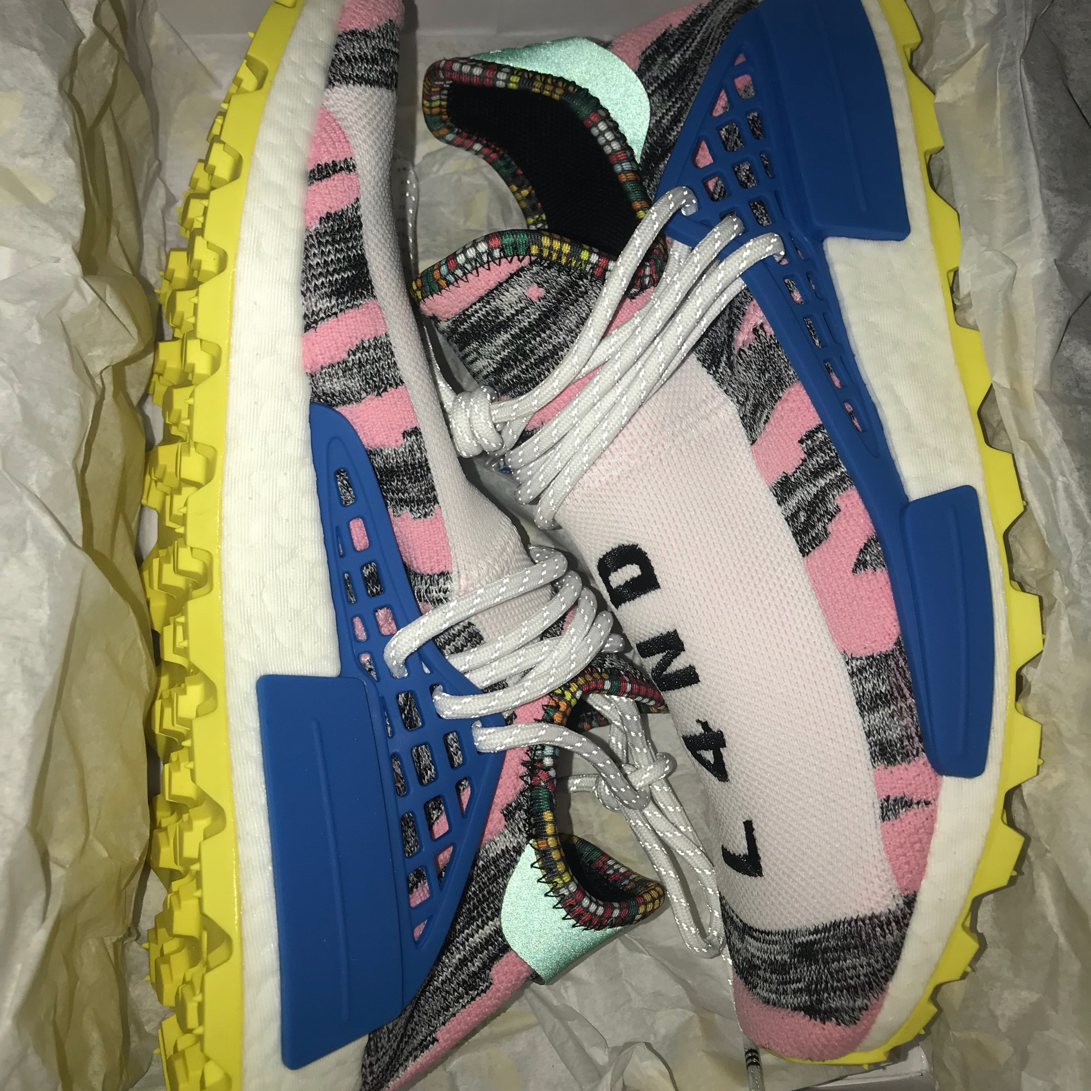 reputable site 70242 a89f9 Adidas Pharrell Williams Human Race Shoe