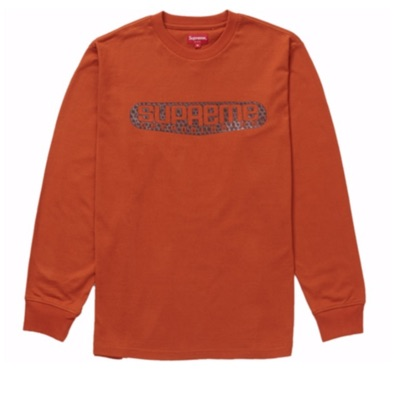 Supreme Tech L/S Shirt Rust