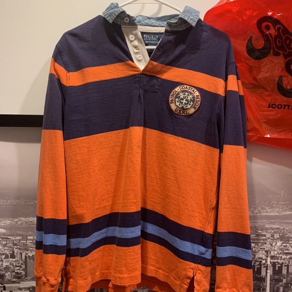 Vintage Polo Long Sleeve Rugby