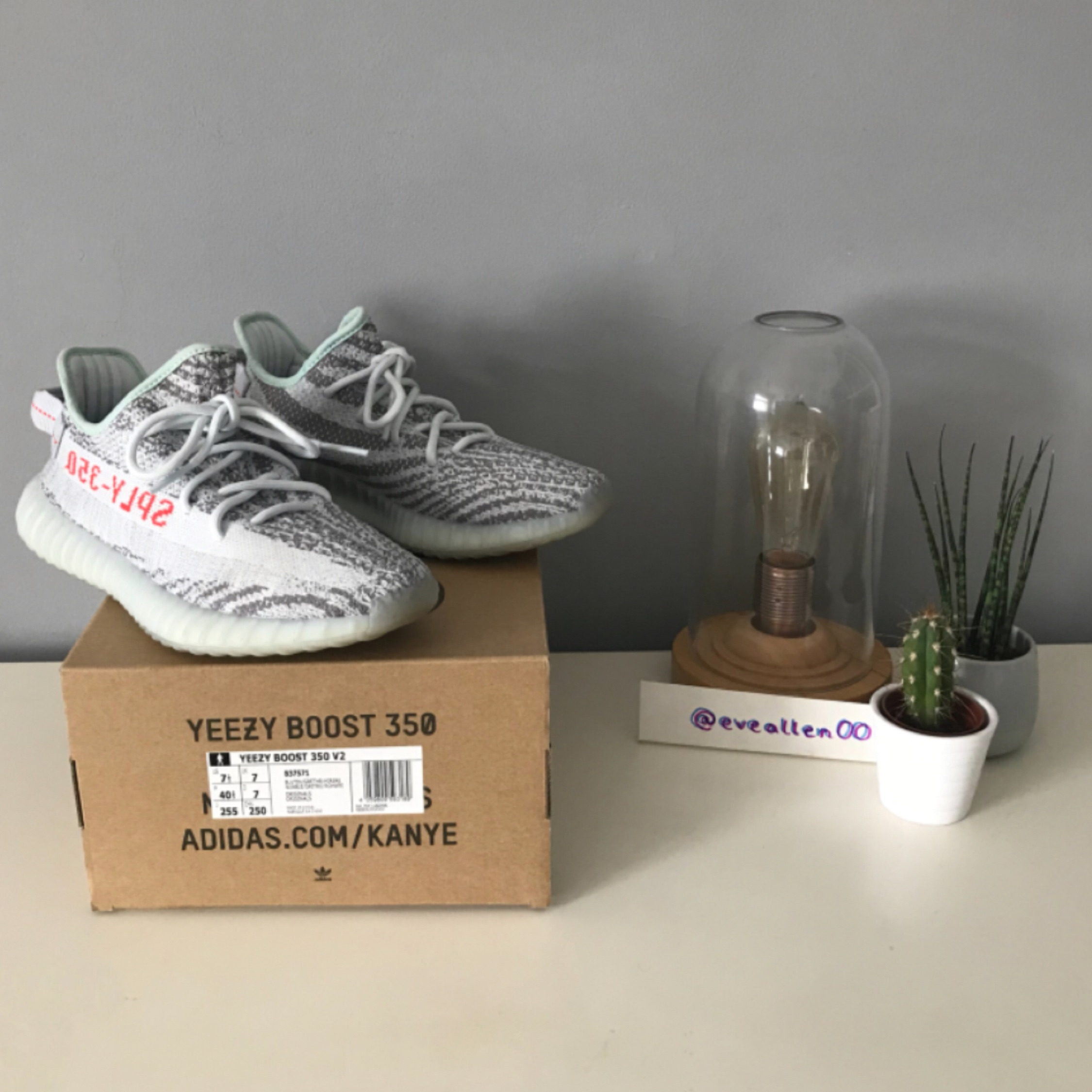 newest collection 8f152 3352e Adidas Yeezy Boost 350 Blue Tint