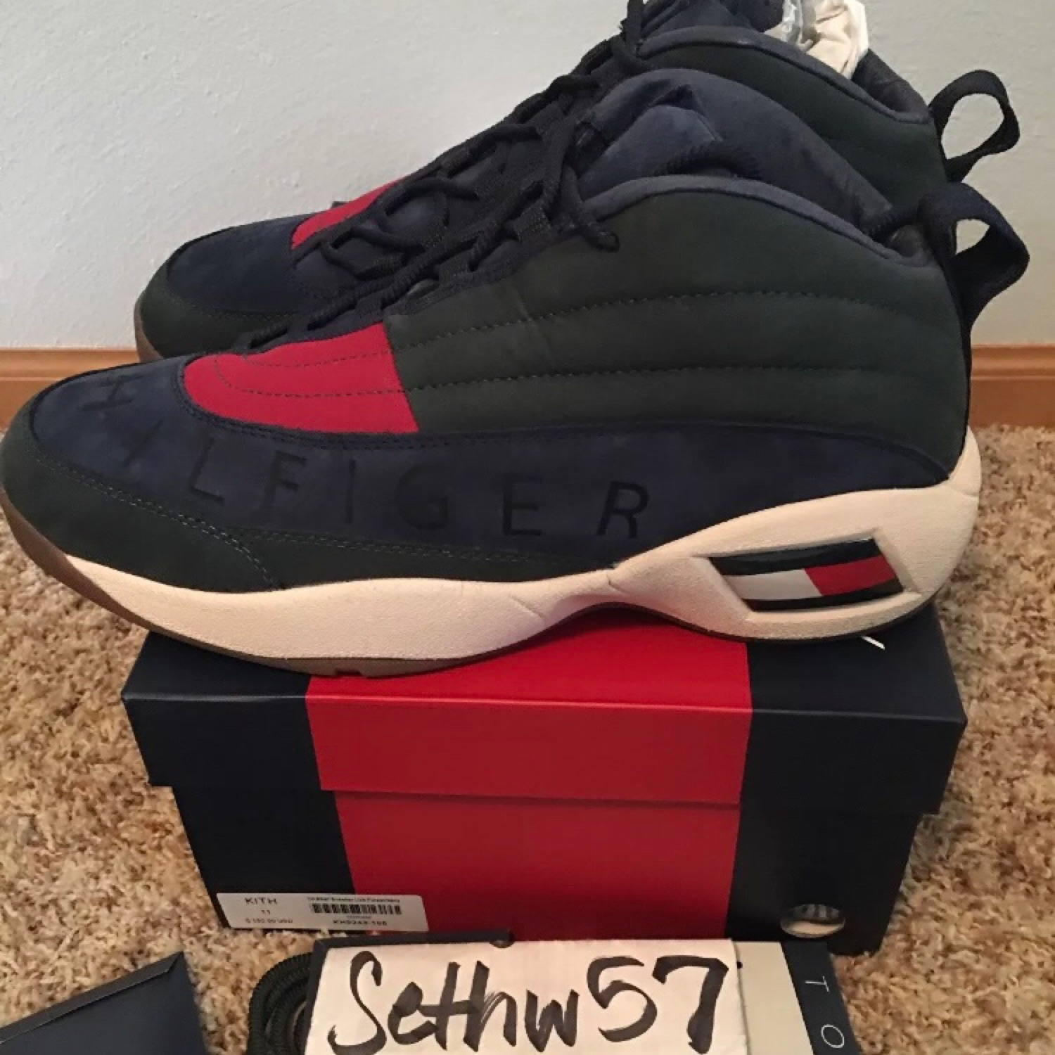 218f8c235 Kith X Tommy Hilfiger Lux Basketball Sneaker