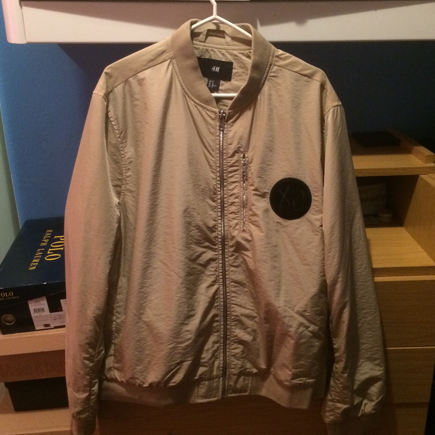 exceptional range of colors choose original 100% satisfaction H&M X The Weeknd Xo Collab Bomber Jacket Beige