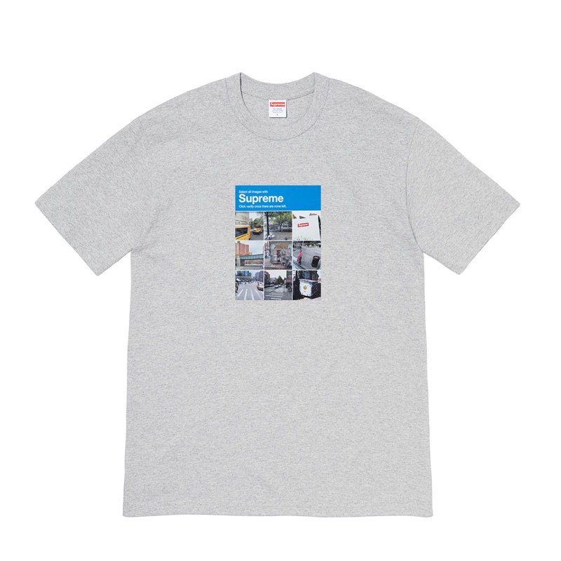 Supreme Verify Tee Grey