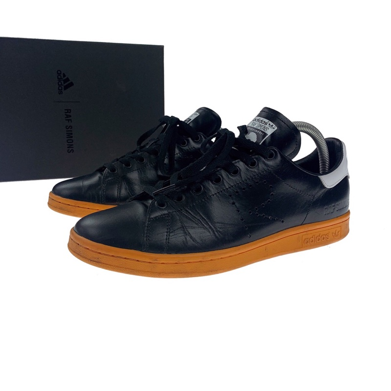 adidas Stan Smith Raf Simons Black Orange