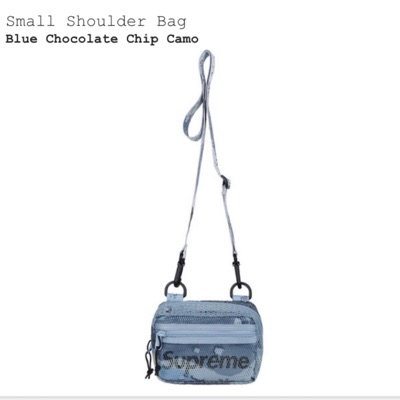 Supreme Small Shoulder Bag (SS20) Blue