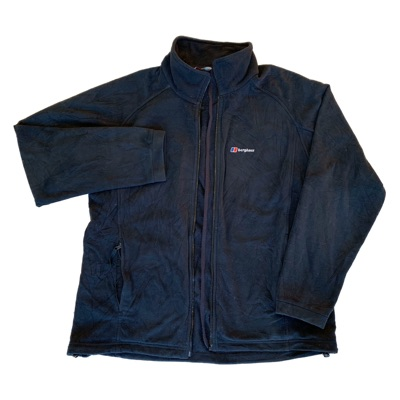 Vintage Black Berghaus Fleece
