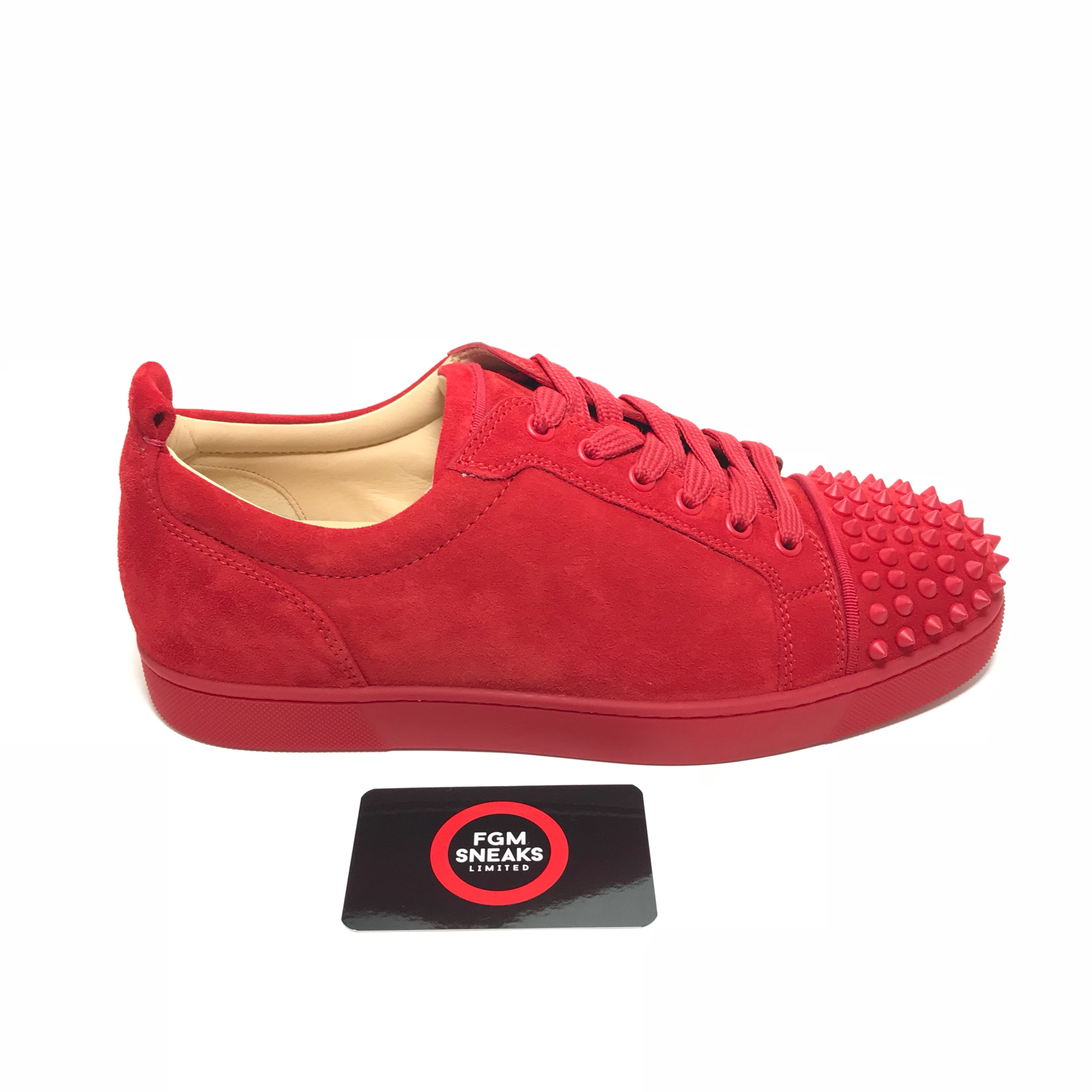 best loved b37ec 2636b Men's Christian Louboutin Louis Junior Spikes