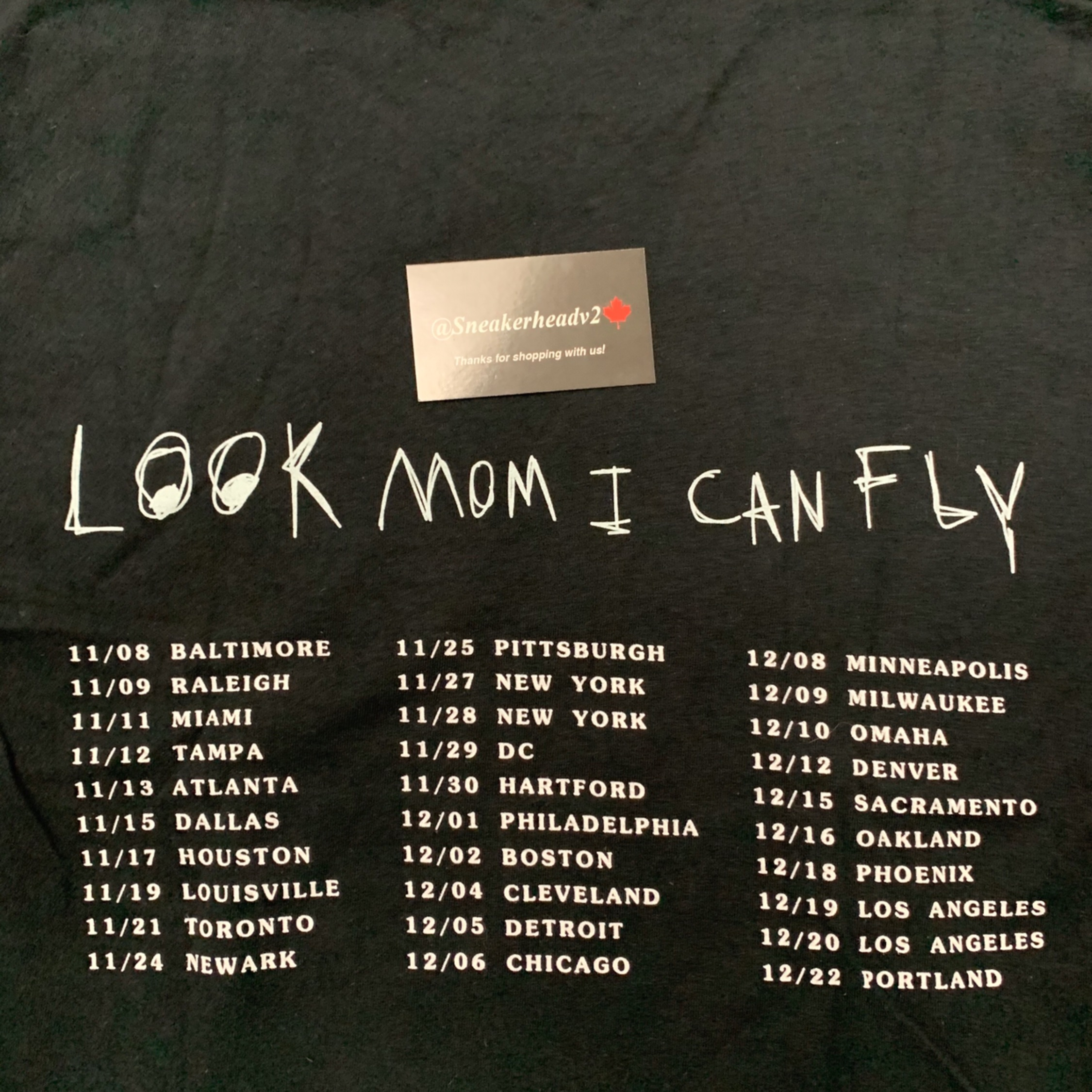 "Travis Scott's Astroworld ""Look Mom I Can Fly"" Tee"