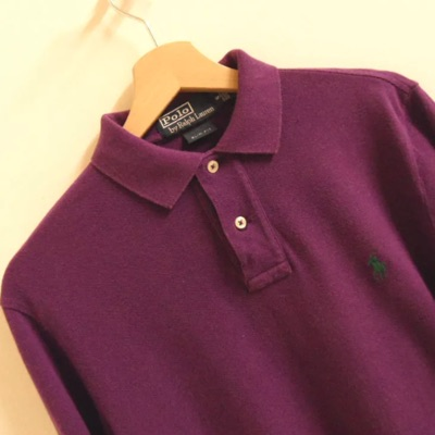 Mens Slim Fit Ralph Lauren Polo Shirt Small Ls19
