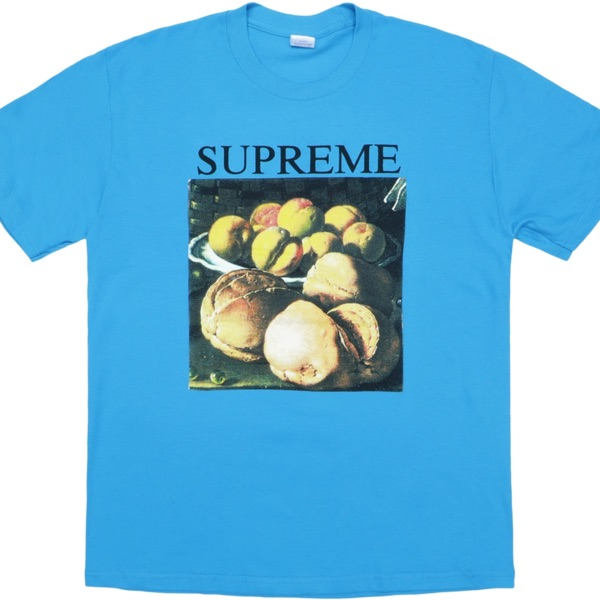 Supreme Still Life Tee Bright Blue