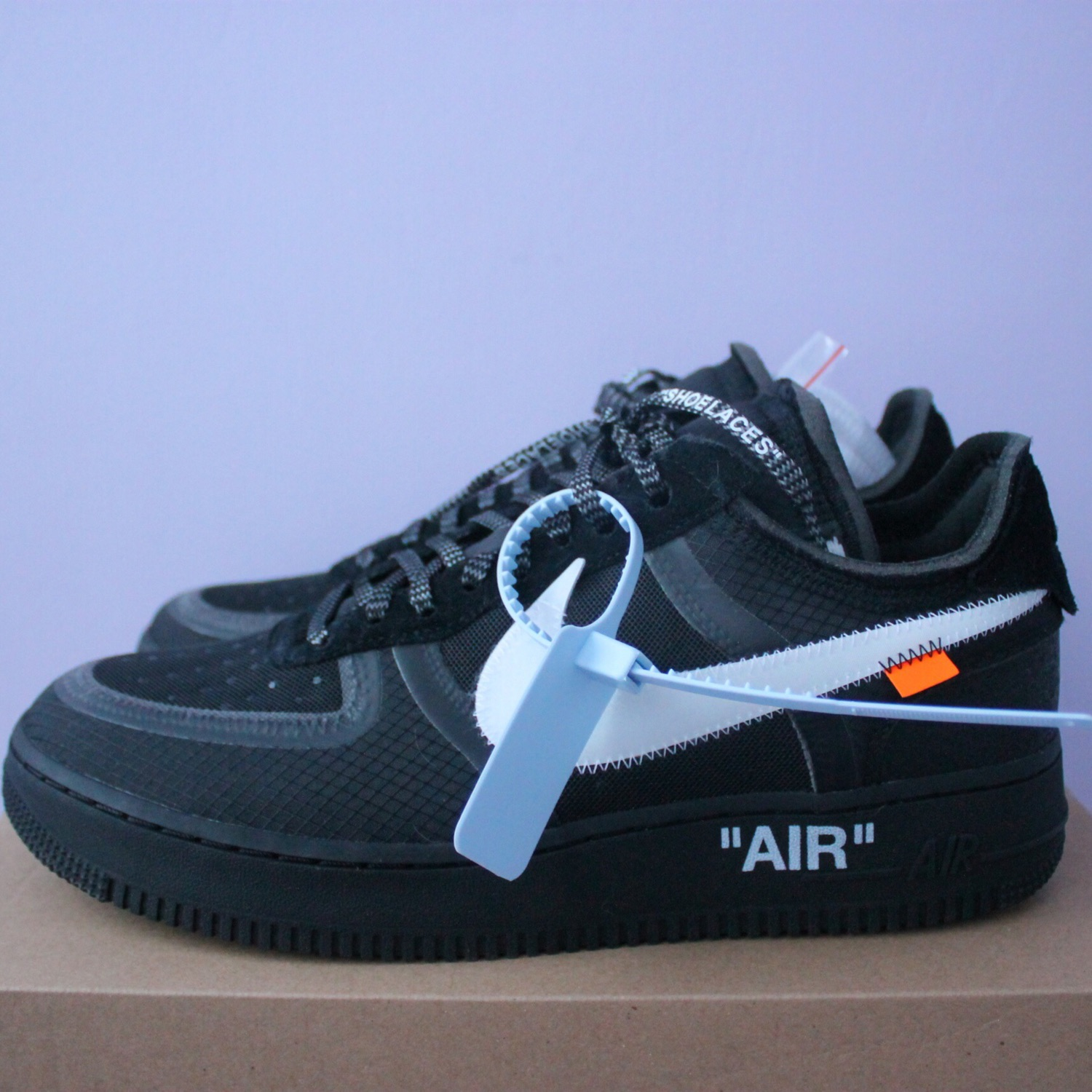 Nike X Off White Air Force 1 Low Black