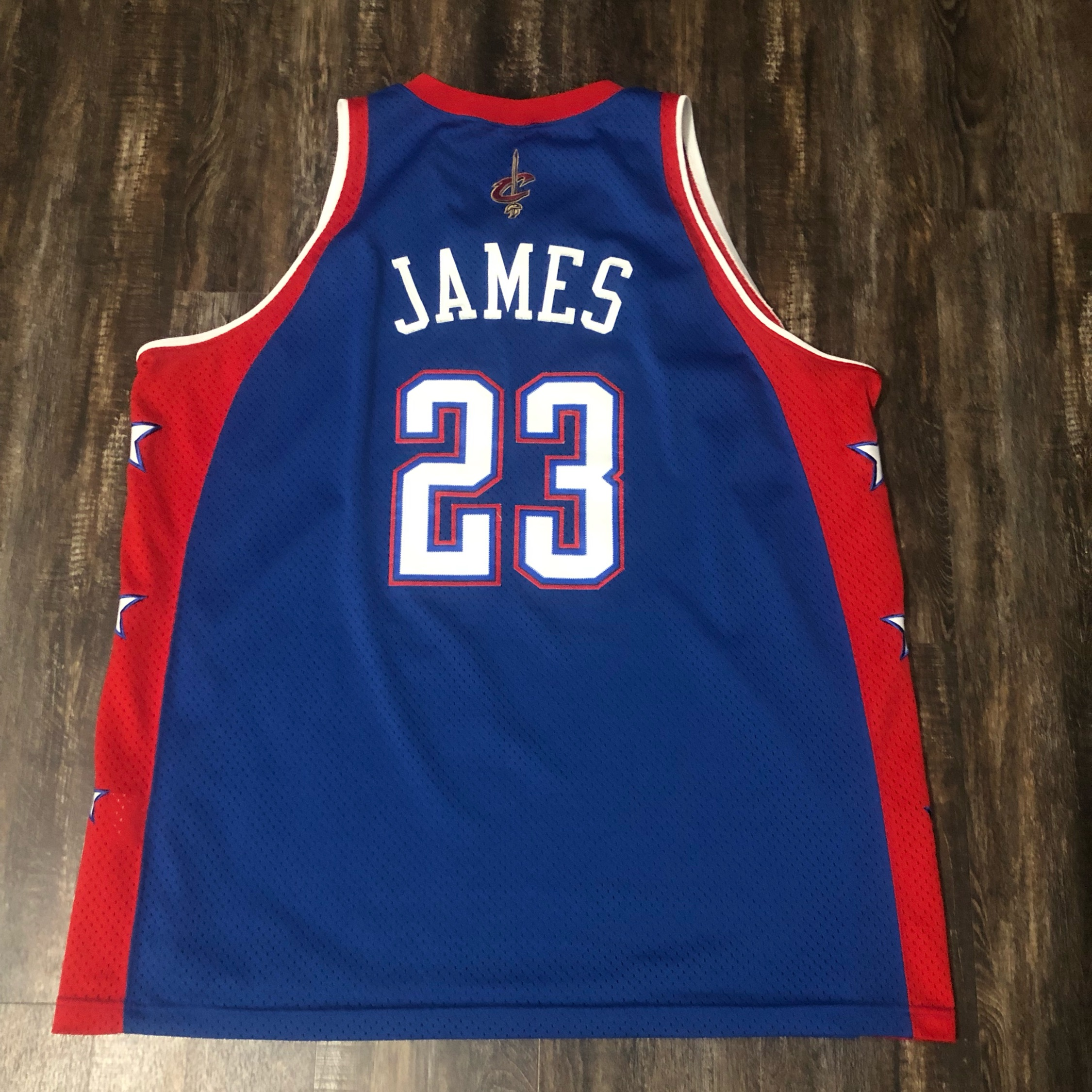 half off 5ce77 90a21 2004 Nike Lebron James All Star Jersey