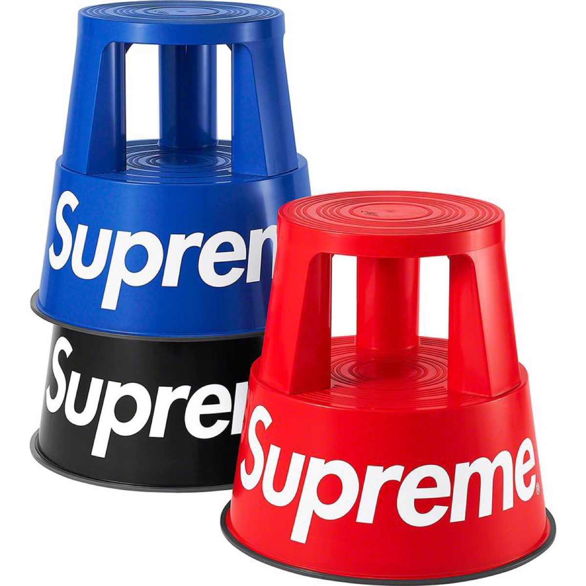 Supreme®/Wedo Step Stool Black