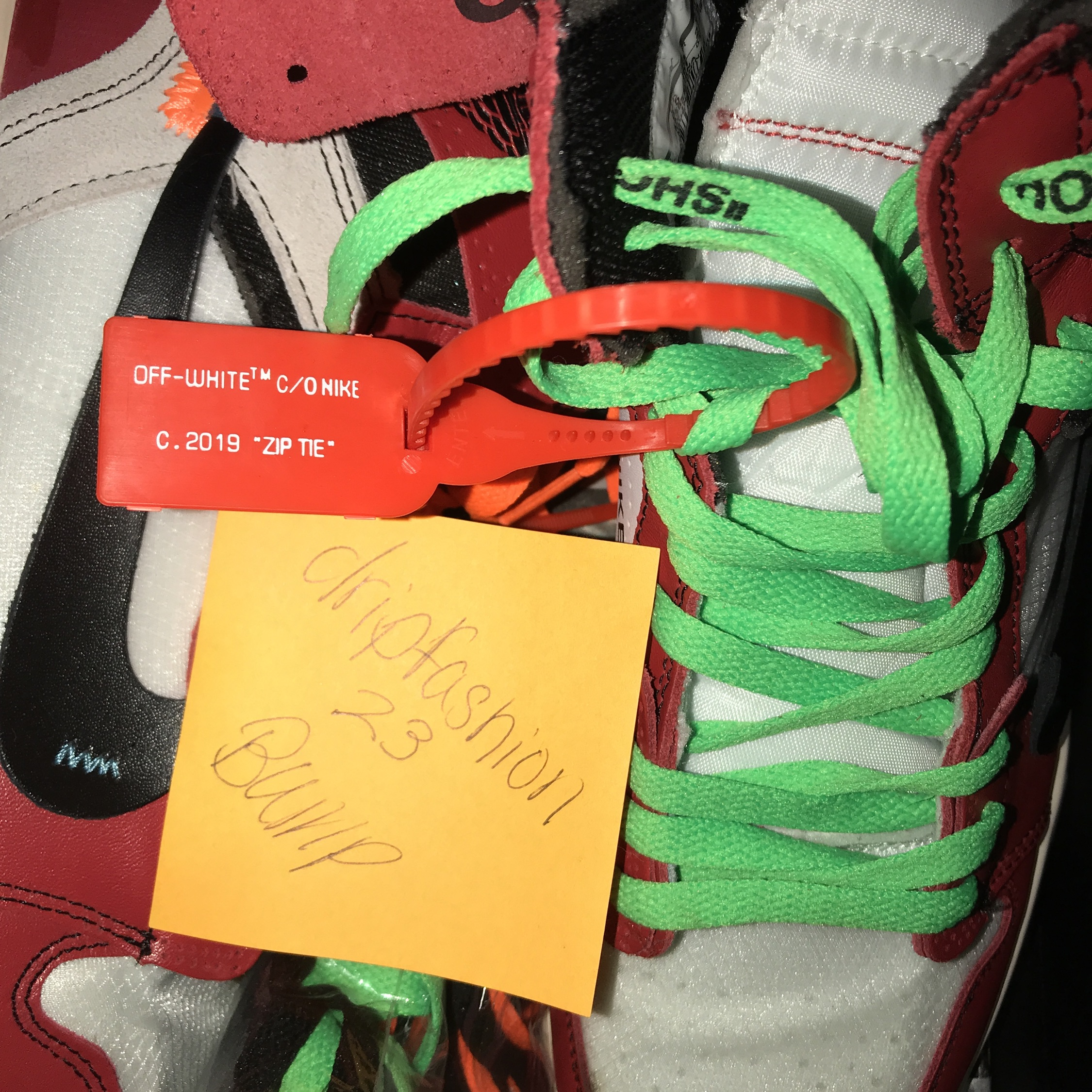 release date: 4d844 98b79 Jordan 1 Offwhite Chicago 9.5 Stockx Verified Used