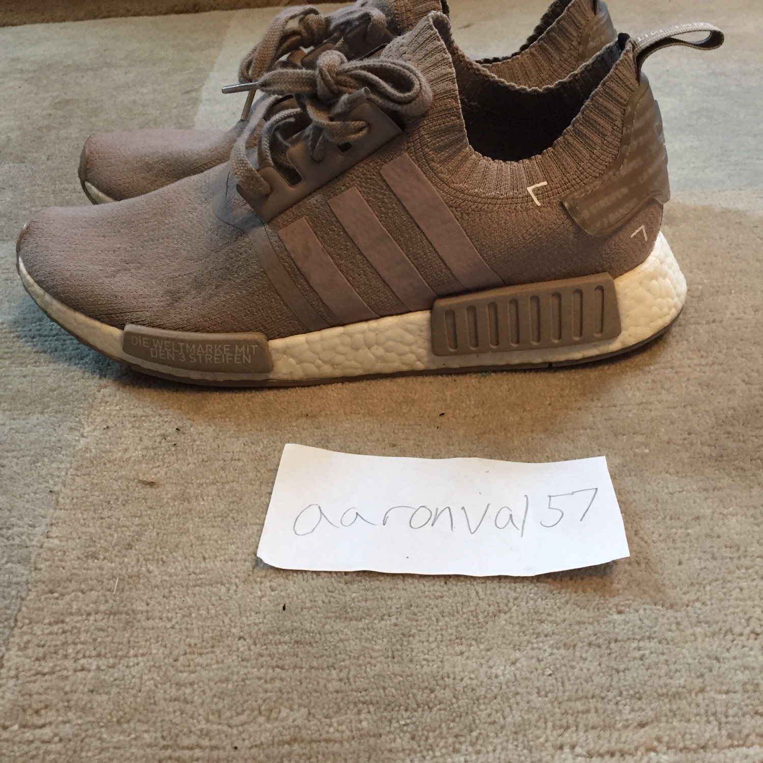 low priced b8d78 8bcc6 Adidas Nmd French Beige R1 Pk
