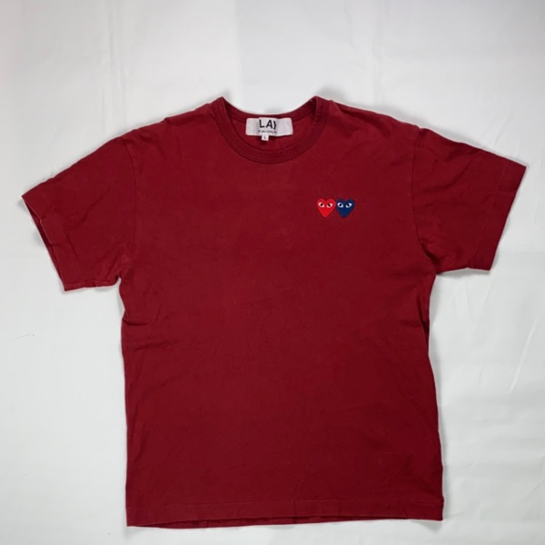 Comme Des Garcons Red Tee