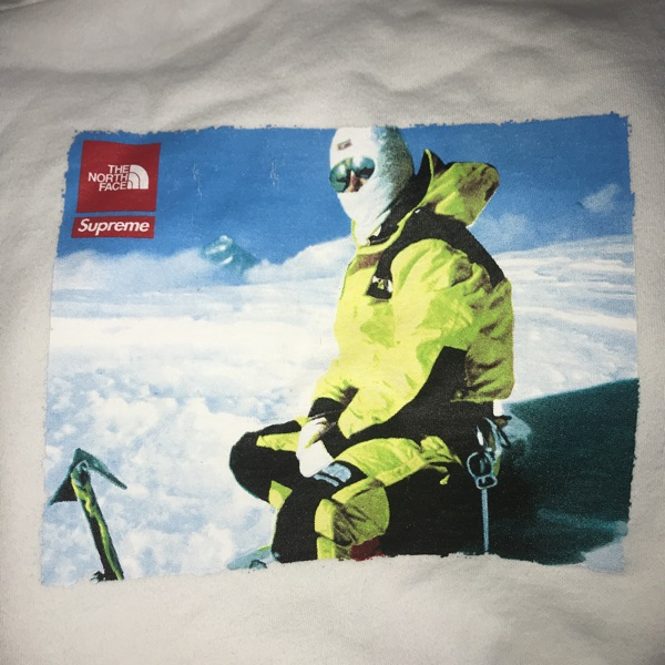 Supreme X Tnf Sweatshirt