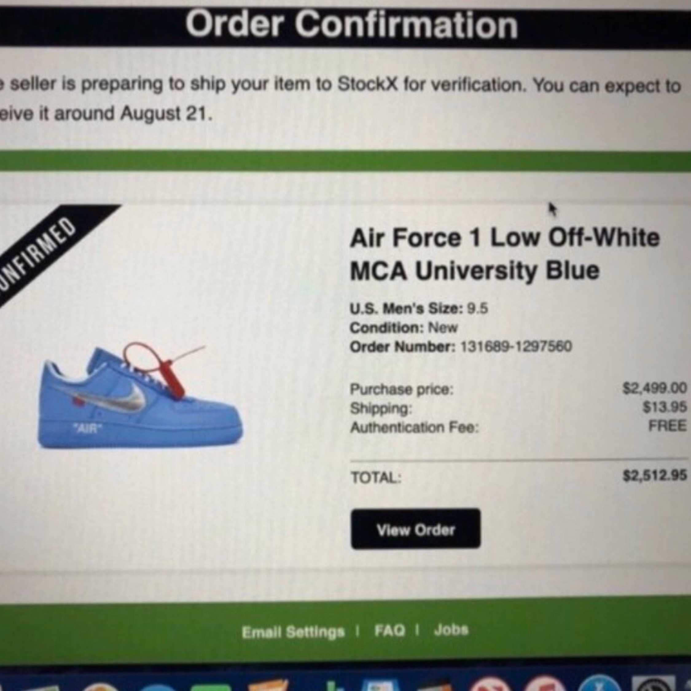 off white x nike air force 1 mca blue stockx