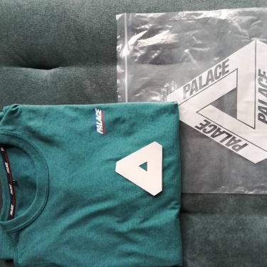 Palace Basically A Longsleeve 2018 Forest Green Maril