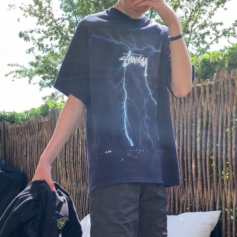 Stüssy lightning t-shirt