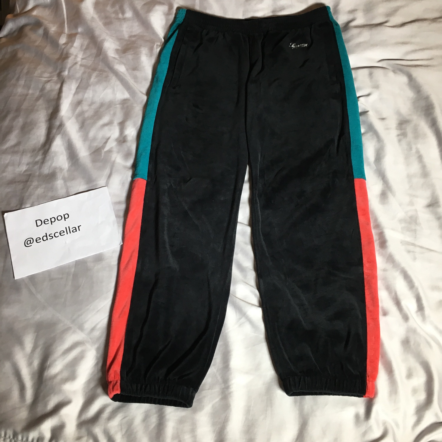 Supreme Velour Tracksuit Bottoms