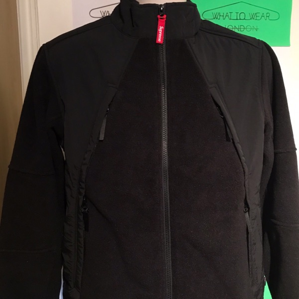 Fw18 Supreme Polartec Zip Up Jacket Size Small S