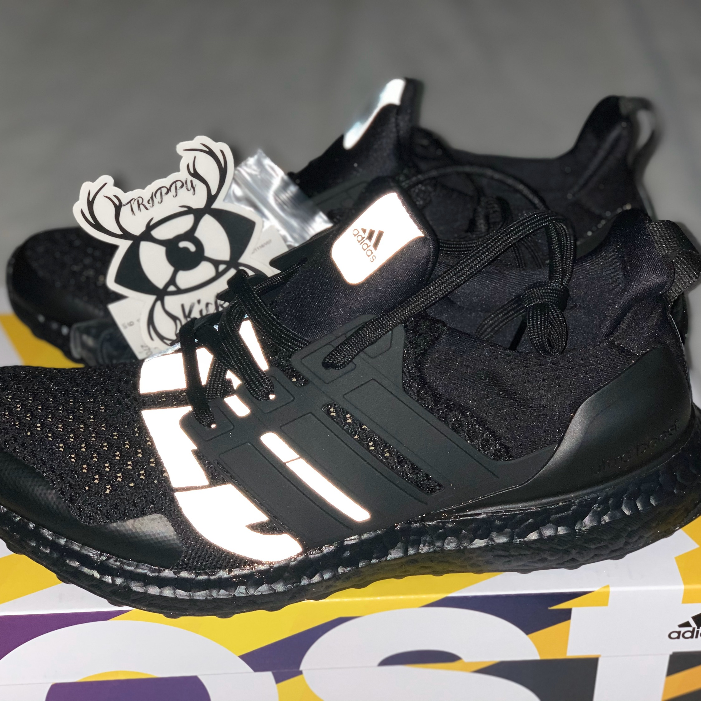 adidas Ultra Boost Undefeated Blackout