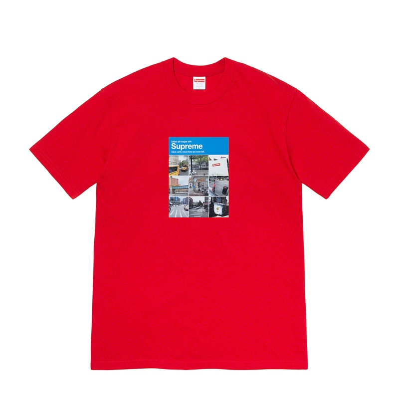 Supreme Verify Tee Red