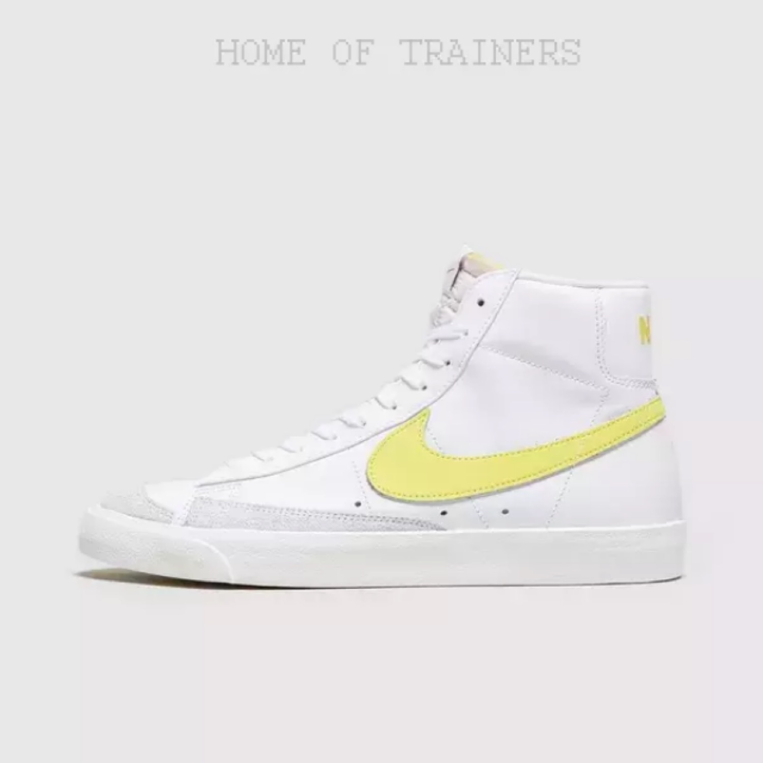 Disponible Eficiente María  Nike Blazer Mid 77 White Yellow