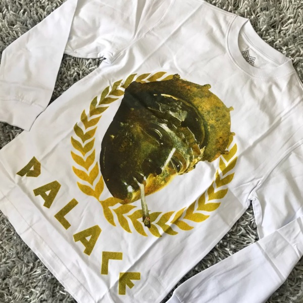 Palace Peaser Longsleeve White Tee Xl New