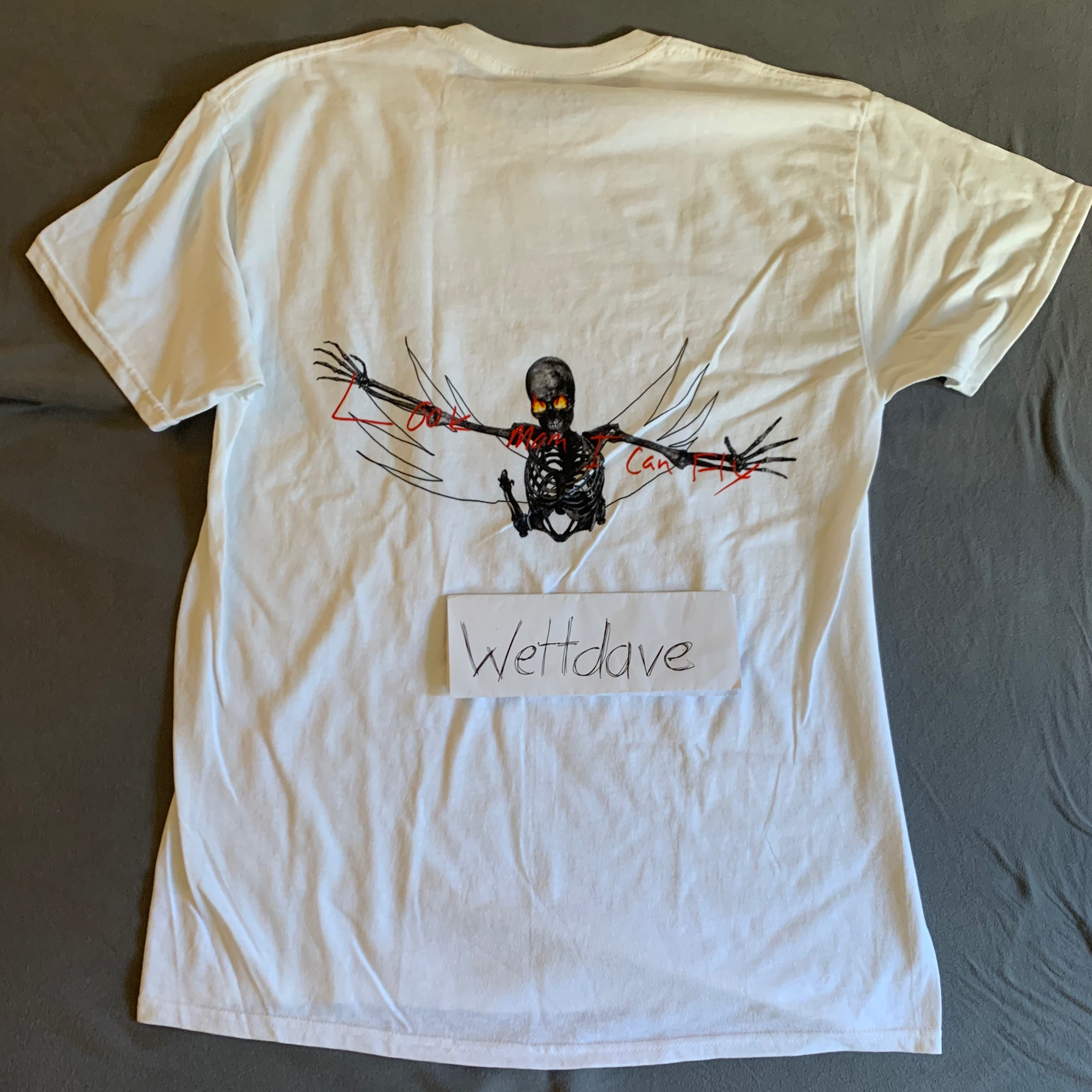 Travis Scott Look Mom I Can Fly Merch
