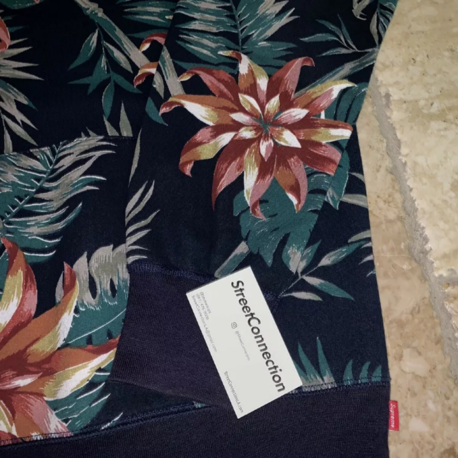 Supreme Ss12 Floral Pullover