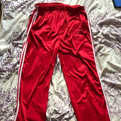 Red Track Pants