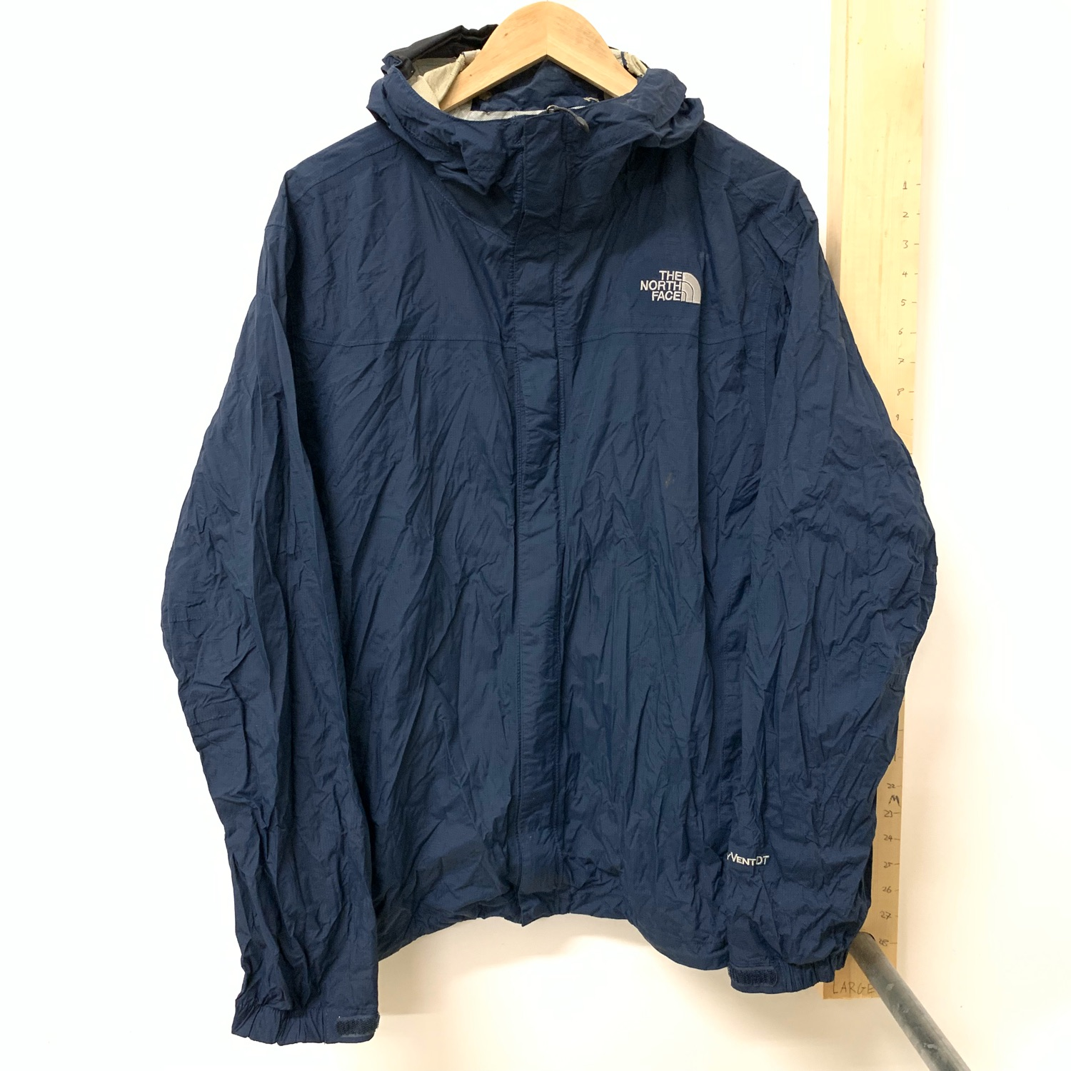 Vintage Navy The North Face Hyvent Jacket