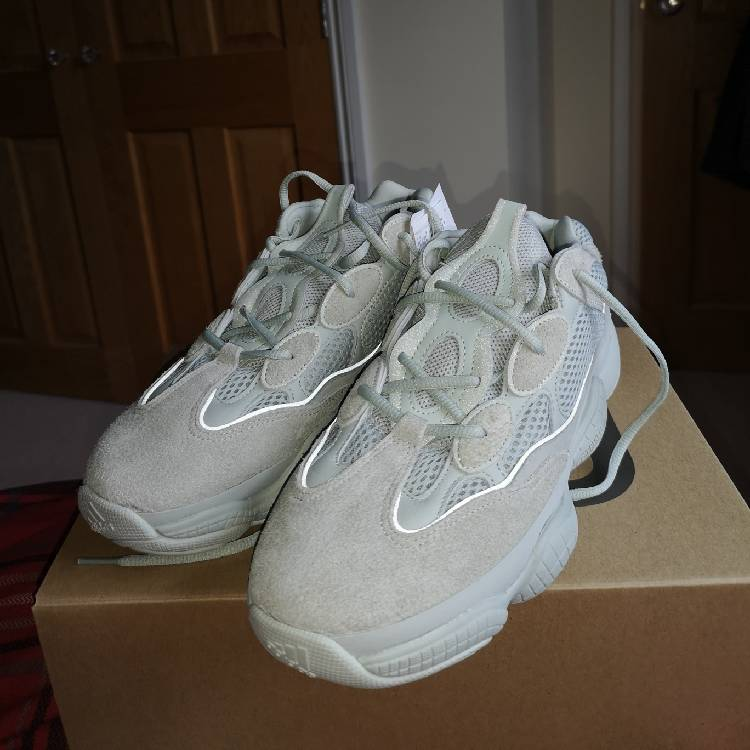 100% authentic d955d 116ba Yeezy 500 Salt Uk10