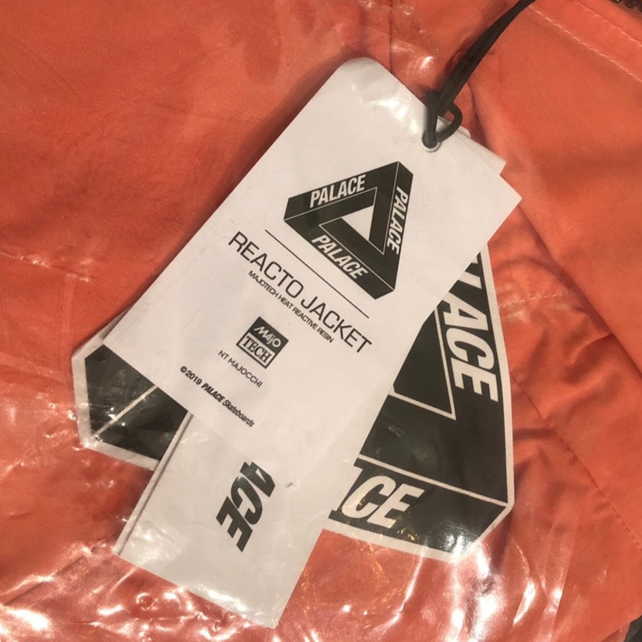 Palace - Reacto Jacket In Hyper Red